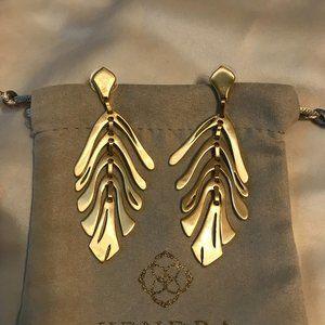 Kendra Scott Jewelry - 🆕Kendra Scott Luca Statement Earrings in Gold